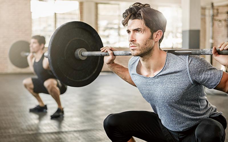 Fitnesstraining für Männer