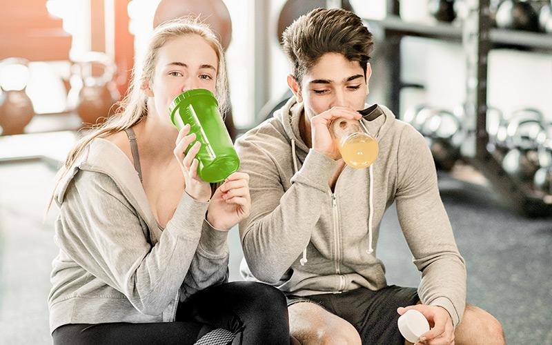 Fitnesstraining für Schüler und Studenten