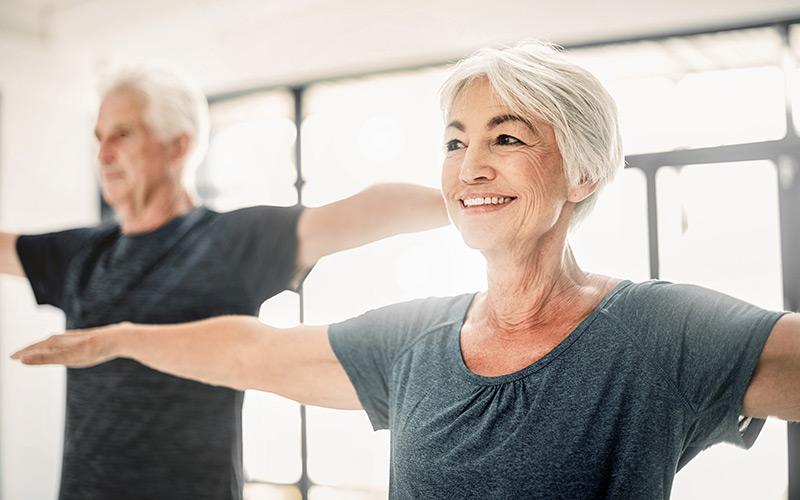 Fitnesstraining für Senioren Fitness für Rentner Pensionäre